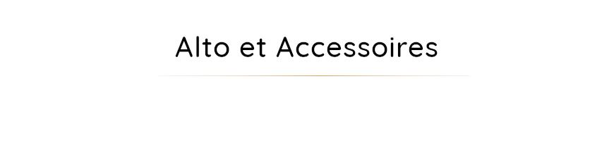 Accessoires pour alto