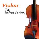 L'univers du violon