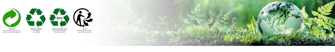 Nos engagements face à l'écologie