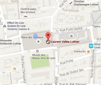 Laurent VALLEE Luthier à Lyon