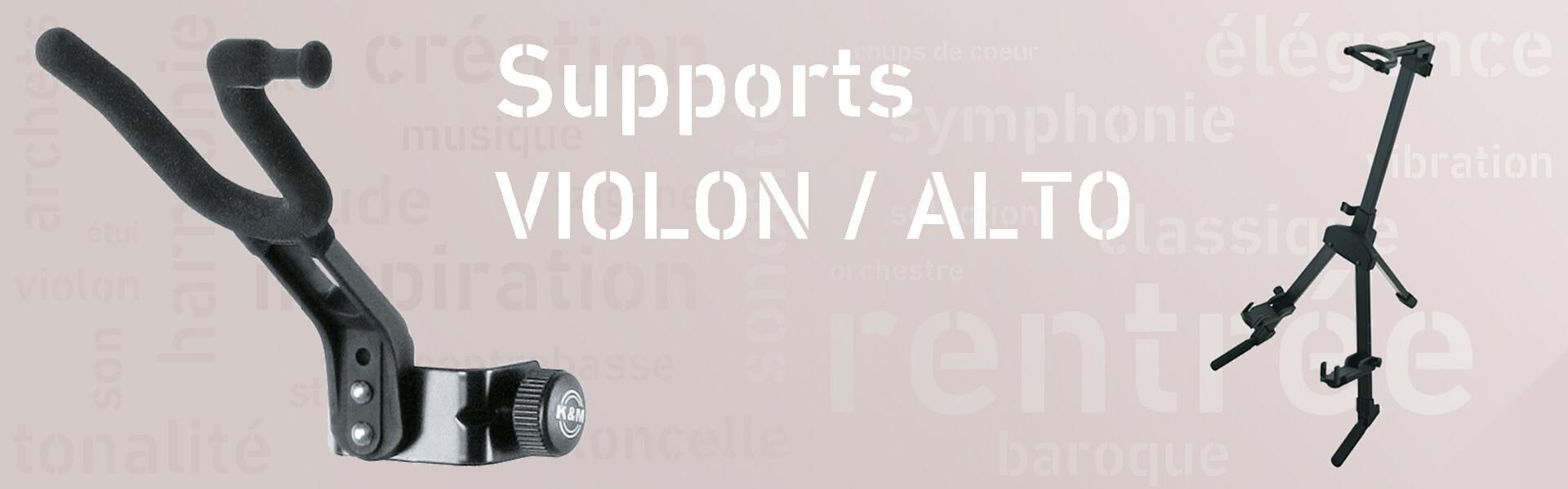 Supports pour  violons et altos